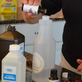 Adding Essential Oils for Aroma