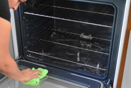 Ovens need regular cleaning