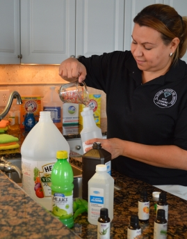 Making our Natural All Purpose Cleaner